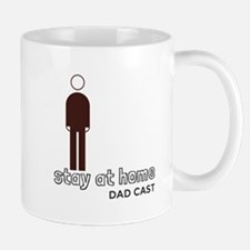 Stay at Home Dad Cast Logo Mugs