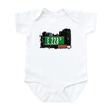 E 228 St, Bronx, NYC Infant Bodysuit