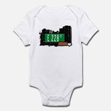 E 228 St, Bronx, NYC Infant Bodysuit