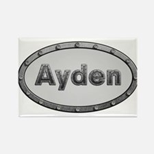 Ayden Metal Oval Magnets