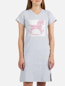 Rocking Horse Design Women's Nightshirt