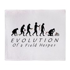 Evolution of a Field Herper Throw Blanket