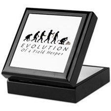 Evolution of a Field Herper Keepsake Box