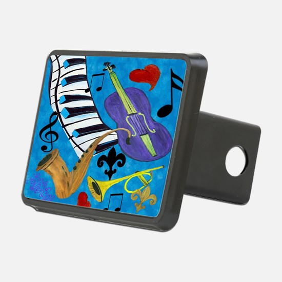 Jazz Art Hitch Cover
