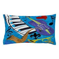 Jazz Art Pillow Case