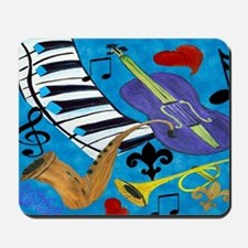 Jazz Art Mousepad