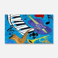 Jazz Art Car Magnet 20 x 12
