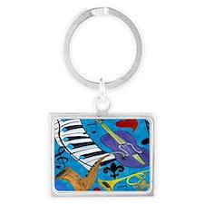 Jazz Art Landscape Keychain
