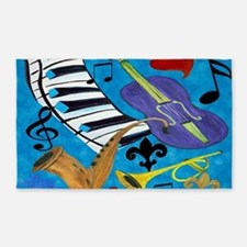 Jazz Art 3'x5' Area Rug