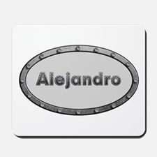 Alejandro Metal Oval Mousepad
