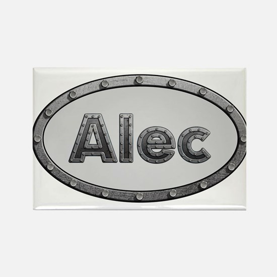Alec Metal Oval Magnets