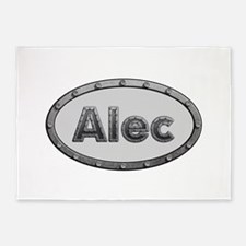 Alec Metal Oval 5'x7'Area Rug