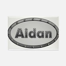 Aidan Metal Oval Magnets
