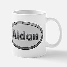 Aidan Metal Oval Mugs