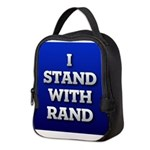 I Stand With Rand Neoprene Lunch Bag