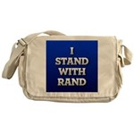 I Stand With Rand Messenger Bag