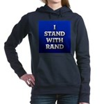 I Stand With Rand Hooded Sweatshirt