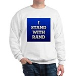 I Stand With Rand Sweatshirt