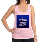 I Stand With Rand Racerback Tank Top