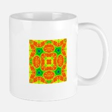 Orange, Yellow, Green, Blue Crazy Kaleidoscope Vie
