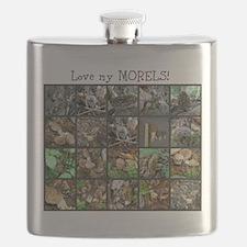 Love my MORELS! Flask