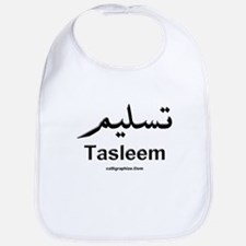 Tasleem Arabic Calligraphy Bib