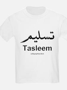 Tasleem Arabic Calligraphy T-Shirt
