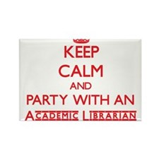 Keep Calm and Party With an Academic Librarian Mag