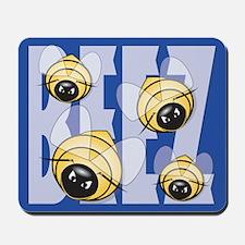 Angry Beez Mousepad