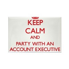 Keep Calm and Party With an Account Executive Magn
