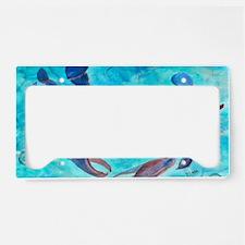 Blue Crab Art License Plate Holder