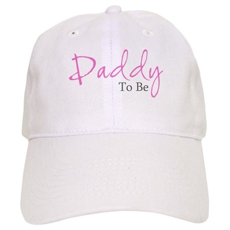 Daddy To Be (Pink Script) Cap