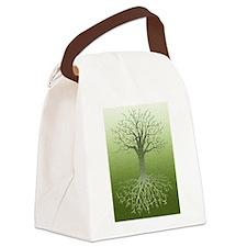Meditative Solstice Canvas Lunch Bag