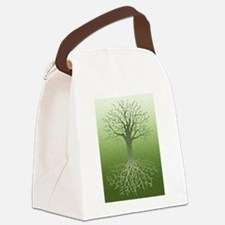Meditative Solstice Canvas Lunch Bag