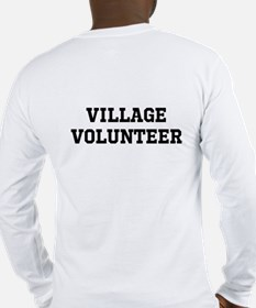 Cute Community service Long Sleeve T-Shirt
