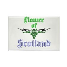 Flower of Scotland Rectangle Magnet