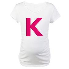 Letter K Pink Shirt