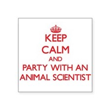 Keep Calm and Party With an Animal Scientist Stick