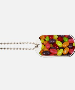 Colored Jelly Beans Dog Tags