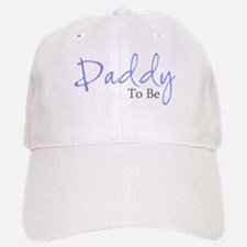 Daddy To Be (Blue Script) Baseball Baseball Cap