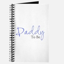 Daddy To Be (Blue Script) Journal