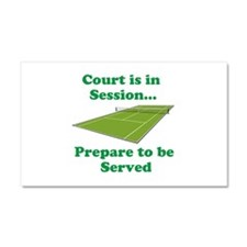 Court is in Session... Car Magnet 20 x 12