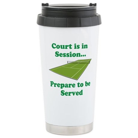 Court is in Session... Travel Mug