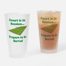 Court is in Session... Drinking Glass