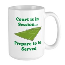 Court is in Session... Mugs