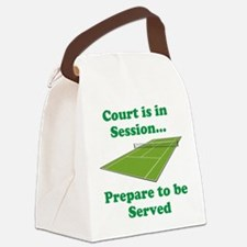 Court is in Session... Canvas Lunch Bag
