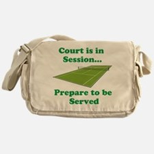 Court is in Session... Messenger Bag