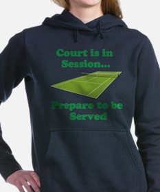 Court is in Session... Hooded Sweatshirt