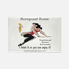 Rampant Rosie Scrumpy Rectangle Magnet