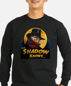 """The Shadow Knows..."" Long Sleeve T-Shirt"